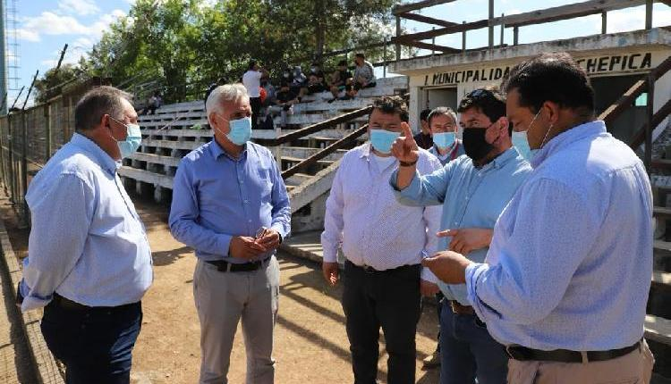 Gobernador Regional visita Colchagua y revisa en terreno cartera de proyectos con Alcaldes de Lolol y Chépica